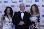 Natacha Noel, Mark Owen and  at the 2015 iDateAwards Ceremony in Las Vegas held in Las Vegas