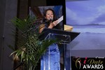Carmelia Ray at the 2015 iDate Awards Ceremony