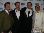 Michael O'Sullivan, Mark Brooks, Max McGuire and Marc Lesnick at the 2015 iDateAwards Ceremony in Las Vegas held in Las Vegas