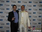 Arthur Malov and Marc Lesnick at the 2015 iDateAwards Ceremony in Las Vegas