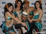 The 2015 iDate Award Dancers at the 2015 iDateAwards Ceremony in Las Vegas