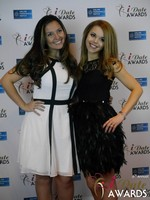 Jennifer Gonzales and Ana Reed-Davies in Las Vegas at the 2015 Online Dating Industry Awards