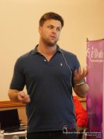 Ben Lambert CEO Clocked Io Speaking At CEO Therapy at the 42nd international iDate conference for global dating professionals in London