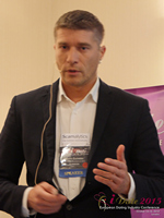 Hristo Zlatarsky CEO Elitebook.bg With Insights On The Bulgarian Mobile And Online Dating Market at the 12th Annual U.K. & E.U. iDate Mobile Dating Business Executive Convention and Trade Show