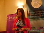 Juliette Prais CEO of Pink Lobster Dating Speaking at CEO Therapy at the 42nd international iDate conference for global dating professionals in London