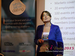 Pauline Tourneur General Manager Of Attractive World Speaking On The French Online And Mobile Dating Market  at the 2015 U.K. & E.U. Online Dating Industry Conference in London