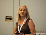 Krystina Trushnya - Publisher of Ukranian Dating Blog at iDate2016 Cyprus