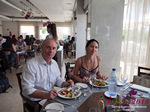 Lunch Among Dating Agencies at the 45th Premium International Dating Business Conference in Cyprus