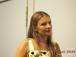Svetlana Mukha - CEO of Diolli at the 2016 Premium International Dating Business Conference in Cyprus