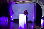 Jenny Gonzalez Presenting the Best Payment System Award at the 7th annual iDate Awards Ceremony