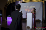 Svetlana Mukha Presenting the Best Up & Coming Dating Site Award at the 2016 iDateAwards Ceremony in Miami held in Miami