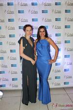 Media Wall Lena Bay and Natalia Jorgenson at the 2016 Miami iDate Awards Ceremony