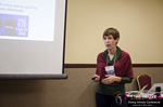 Ursula Hessenflow CEO of MyLabBox on Std Related to Online Dating at the 13th Annual iDate Super Conference