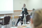 Catherine Dumas, CEO of Atman Co, covering personality testing strategy at iDate London 2016 at the September 26-28, 2016 Londres Reino Unido & União Europeia Online and Mobile Dating Industry Conference