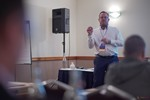 Gary Beal (CEO of Vanguard Online Media) speaking on Unique Traffic Sources and Strategy for Online and Mobile Dating at the September 26-28, 2016 event for global online dating and matchmaking professionals in Londres