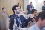 Questions from the audience at UK iDate Dating Business conference in London 2016. at the 2016 iDate Mobile, Online Dating and Matchmaking conference in Londres