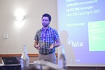 Taha Yasseri, Research Fellow in Computational Social Science from University of Oxford, presenting a statistical description of mobile dating communications. at the September 26-28, 2016 conference and expo for online dating and matchmaking in Londres