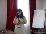 Elena Vygnanyuk at the 49th Premium International Dating Industry Conference in Belarus